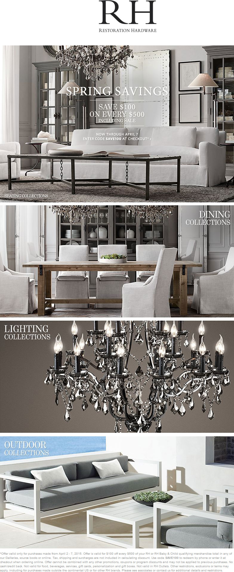Restoration hardware lighting sale sale alerts for for When is restoration hardware lighting sale