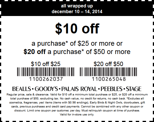 Goodys coupon code