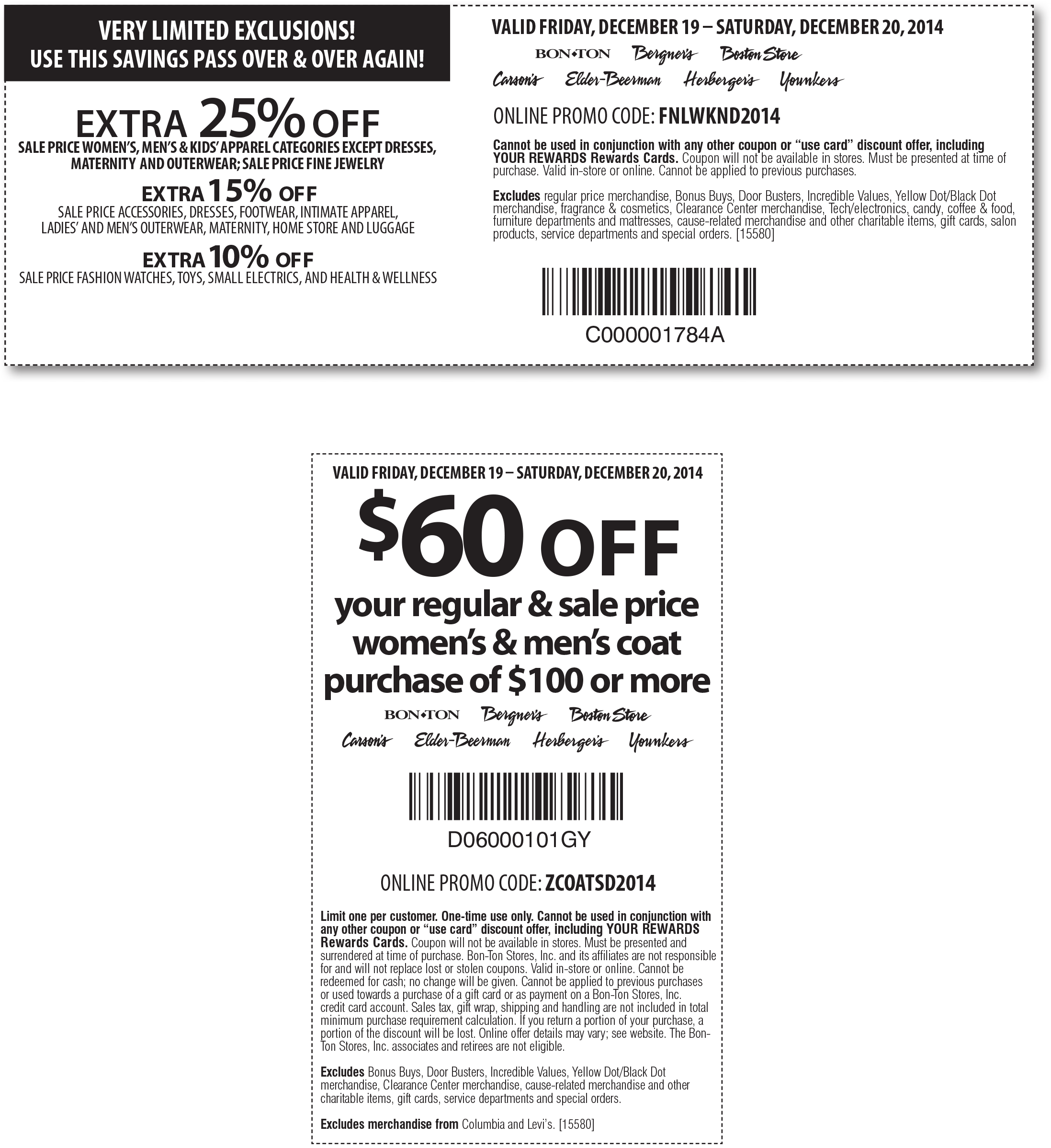 $10 off Carson's discount code; Utilizing Your Free Carson's Coupon. Simply pick out the Carson's promo code that you would like to use and get ready to save right away. As you can see from the instructions below, you are just a few clicks away from some amazing deals. So shop to it at Carson's now! Browse the Carson's product range5/5(1).