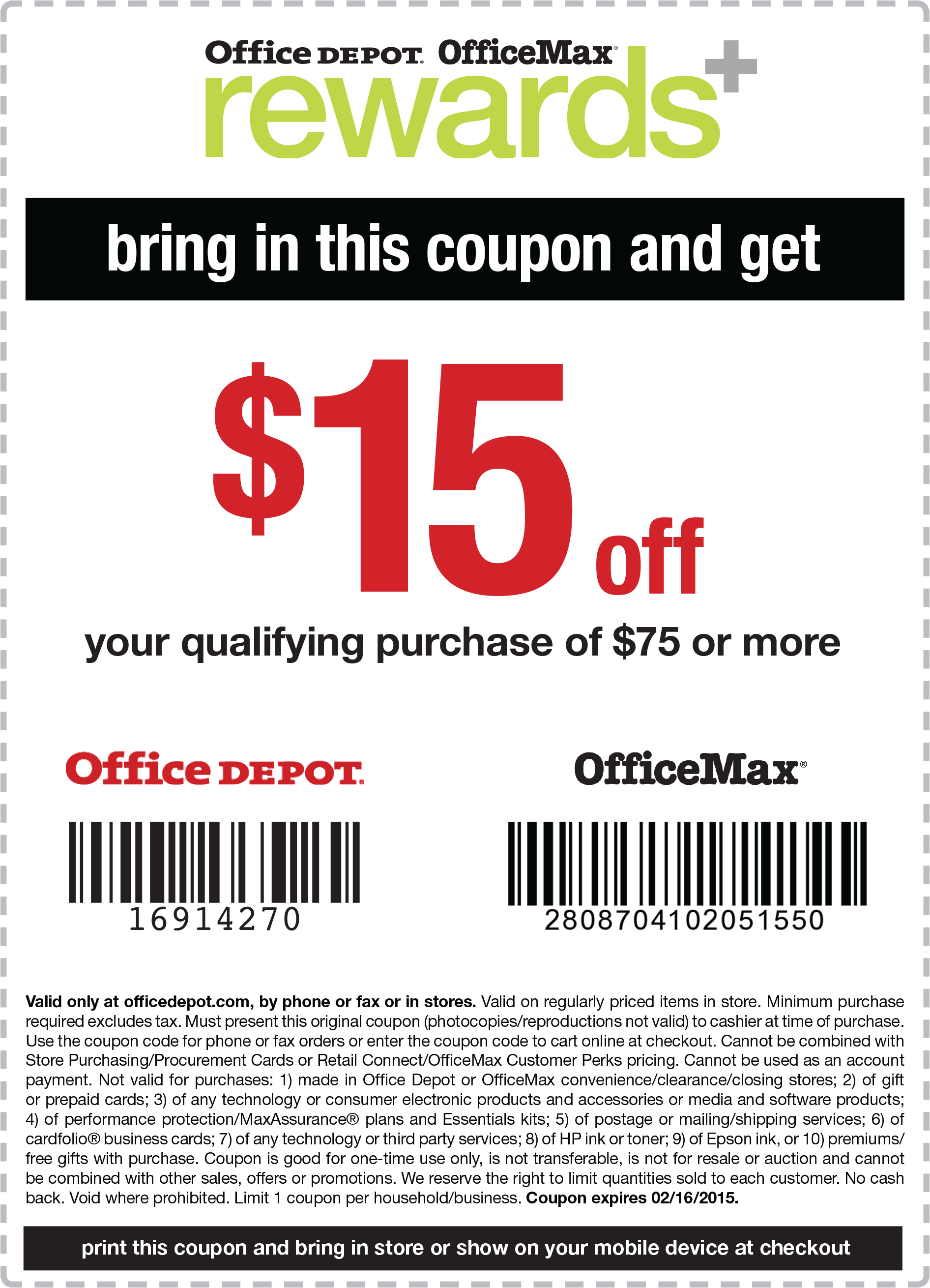 Coupon codes for office depot