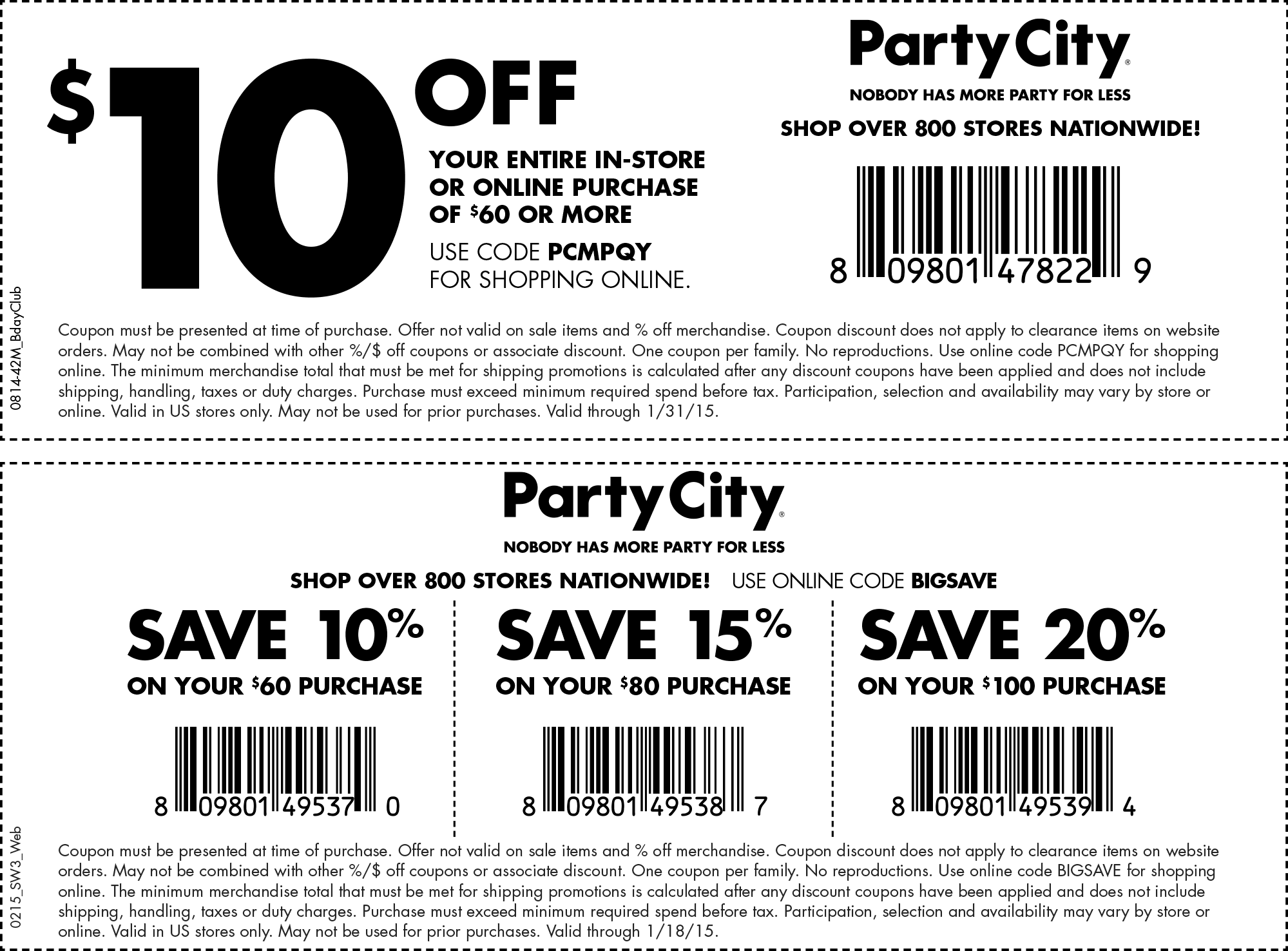 Pretend city discount coupon