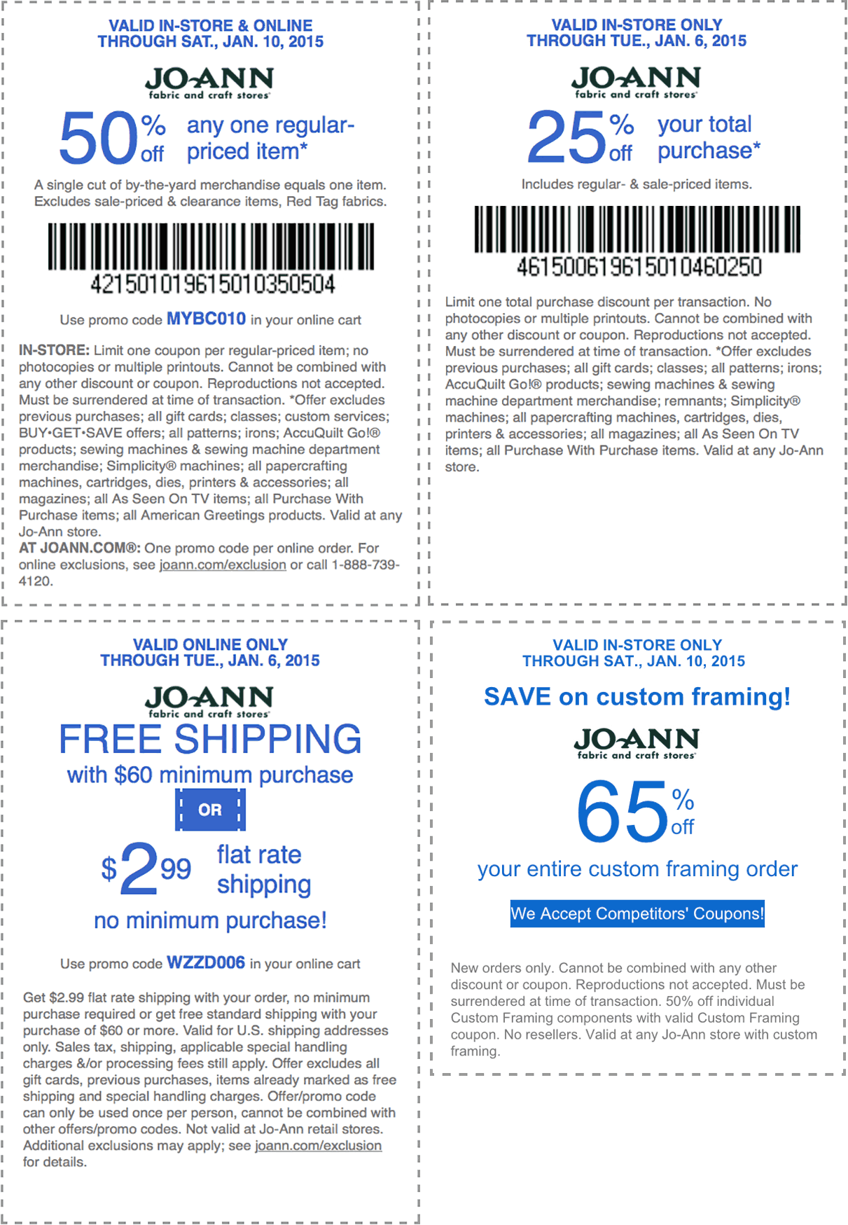 Joanns coupons 50 off