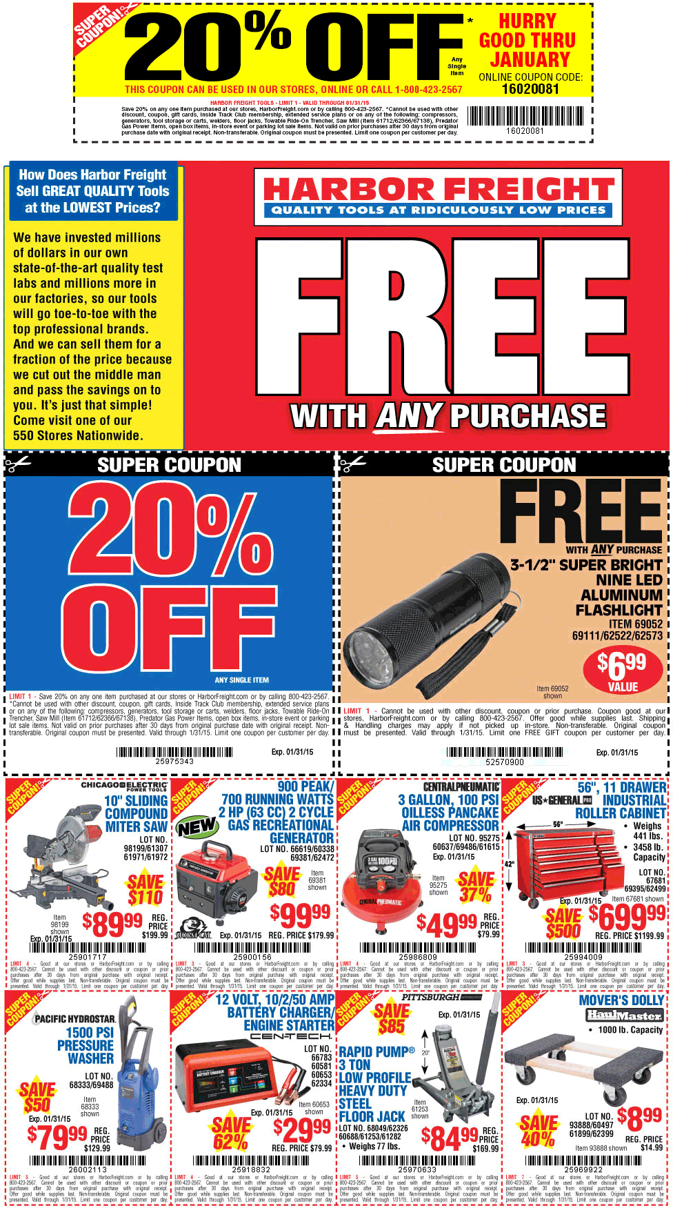 20 Coupon For Harbor Freight Tools Wicked Ticketmaster Coupon Code