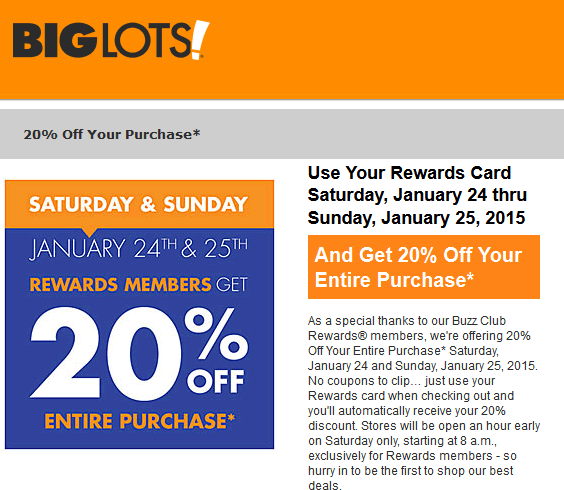 Does Big Lots Do Black Friday? Yes, the Big Lots Black Friday Deals will start on Fri Nov 23 with many items available in the discounted Black Friday sale. Does Big Lots Do Cyber Monday? Yes, the Big Lots Cyber Monday Deals will start on Mon Nov 26 with many items available in the discounted Cyber Monday sale.