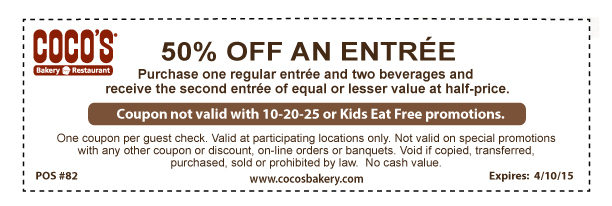 Cocos 20 Off Coupon