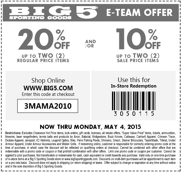 picture about Big 5 Printable Coupons known as Huge 5 on the web coupon code / Usave motor vehicle condo coupon codes